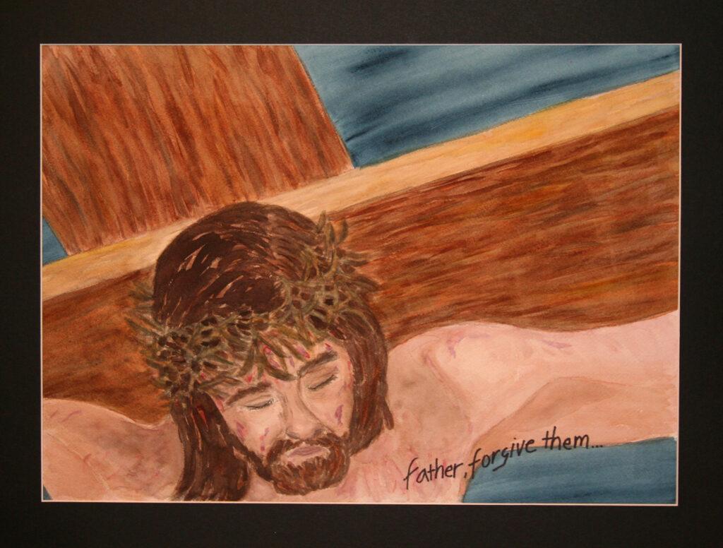 Jesus, Crucified