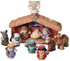 Little People Nativity Scene