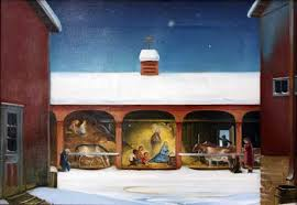 The Manger where he was born