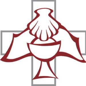 Cross with seashell